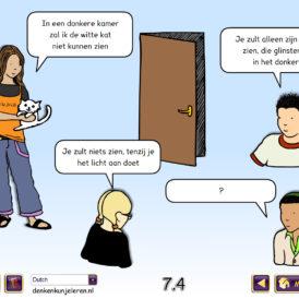 Concept Cartoons Wetenschap Schoollicentie