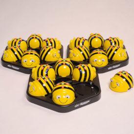 Bee-Bot sixpack met oplaadstation