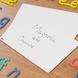 Magnetisch Whiteboard A4,  30 stuks