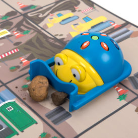 Bee-Bot bulldozer regenboog sixpack