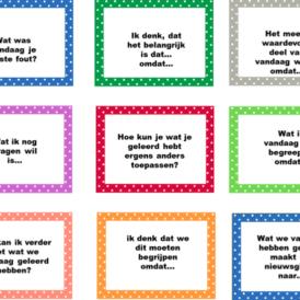 36 evaluatievragen voor de vragenbal
