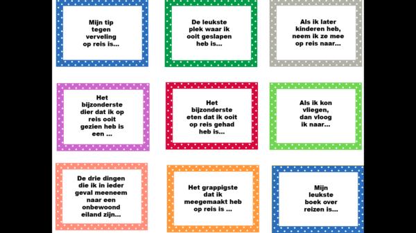 vragenbalkaartjes kinderboekenweek 2019