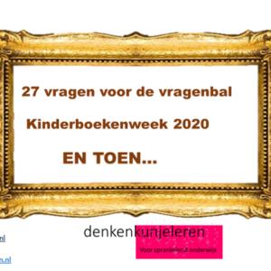27 vragen rondom het thema van de kinderboekenweek 2020 EN TOEN