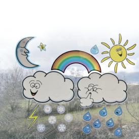 Maxi-Meteo; spelen met het weer.