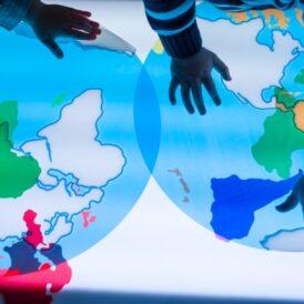 Ontdek decontinenten van de wereld