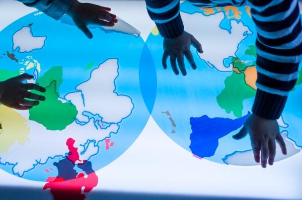 Continenten van de wereld