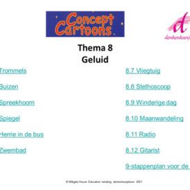 Concept Cartoons Thema 8: Geluid