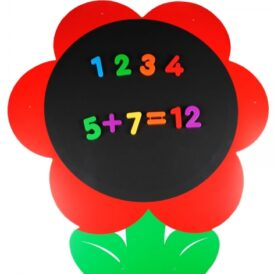 Enorm Magnetisch bloem krijtbord 1 stuks